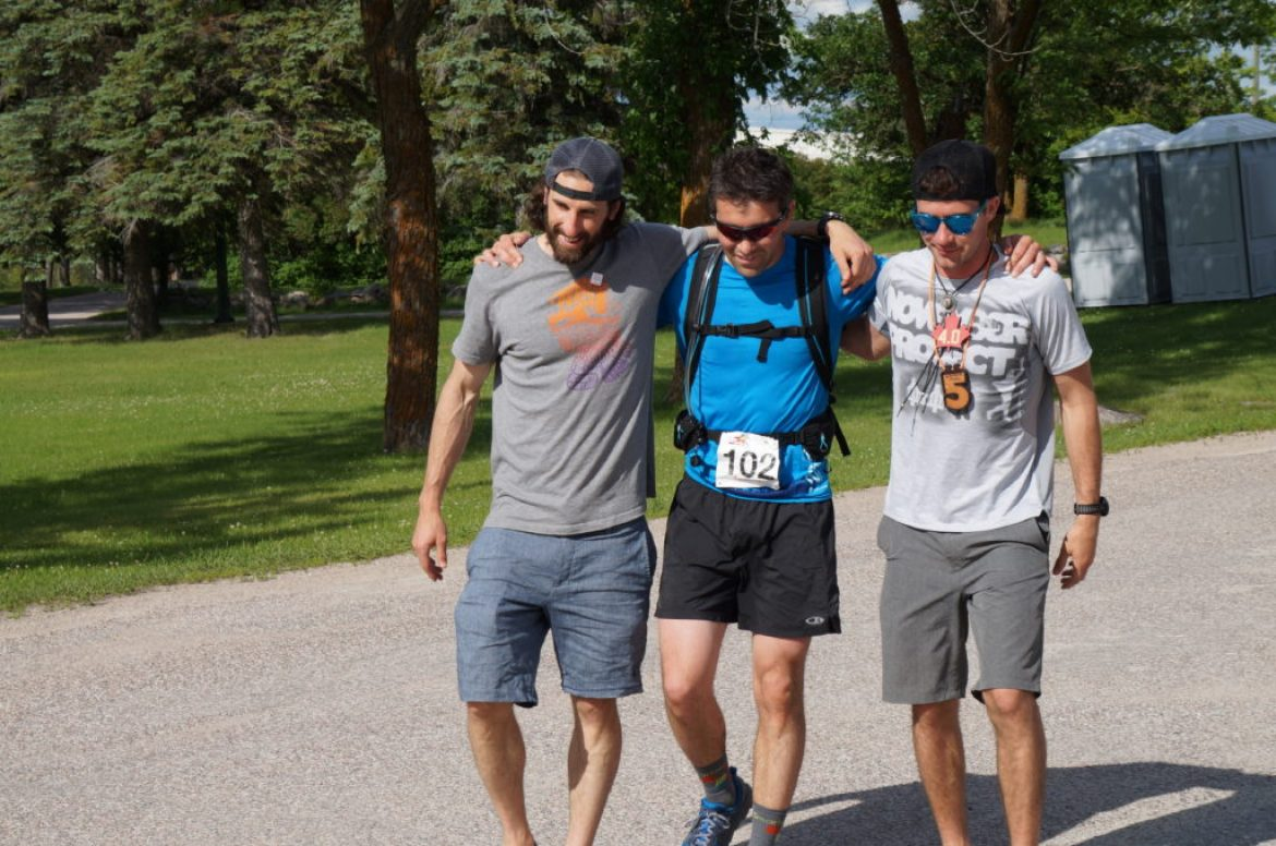 150 miles for Canada 150